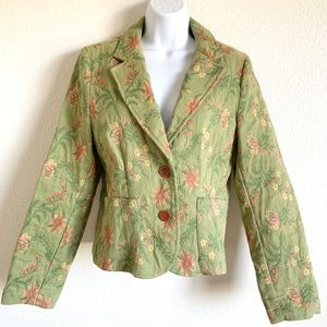 CAbi | Floral tapestry blazer style# 165